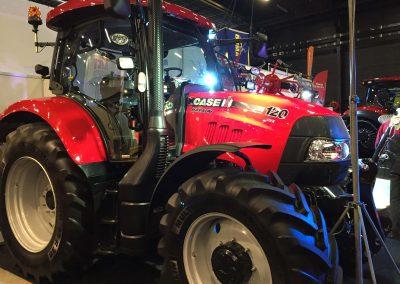 Gepoetste tractor